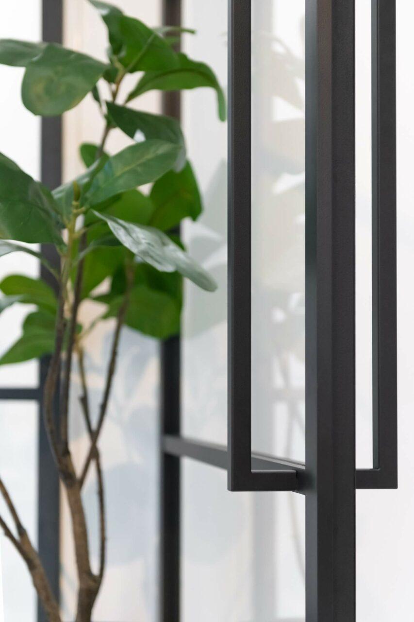Opdekdeur stompe deur handgreep magneetsluiting