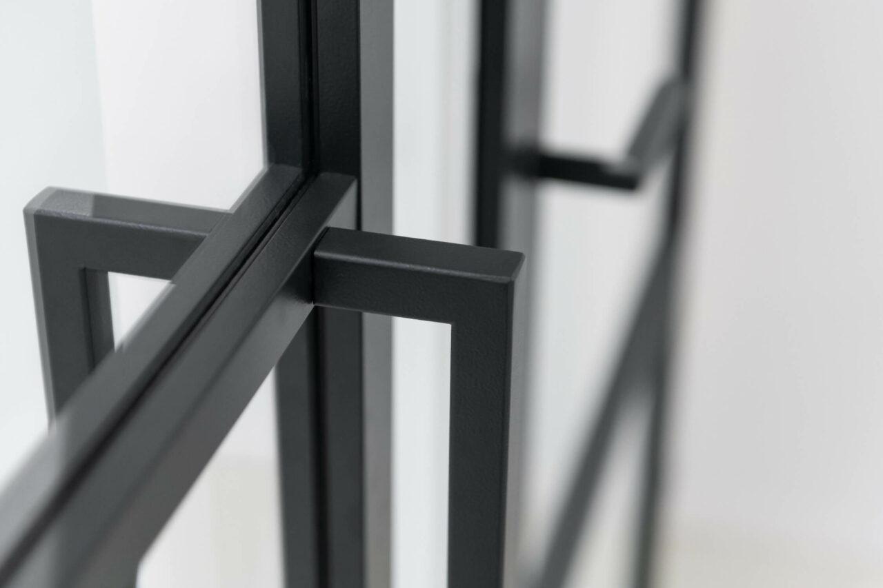 U-vorm handgreep opdekdeur stompe deur