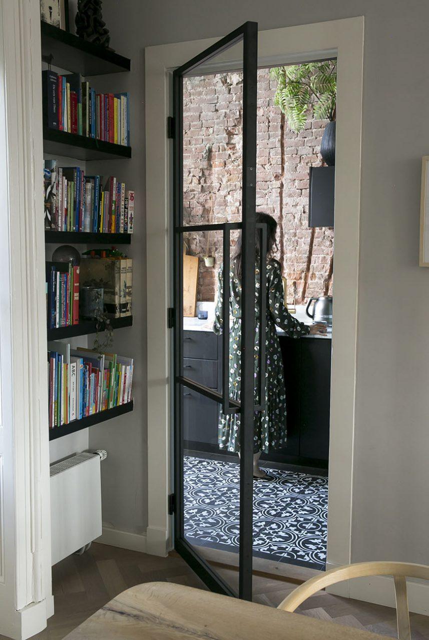 Stalen deur Interior Junkie GewoonGers