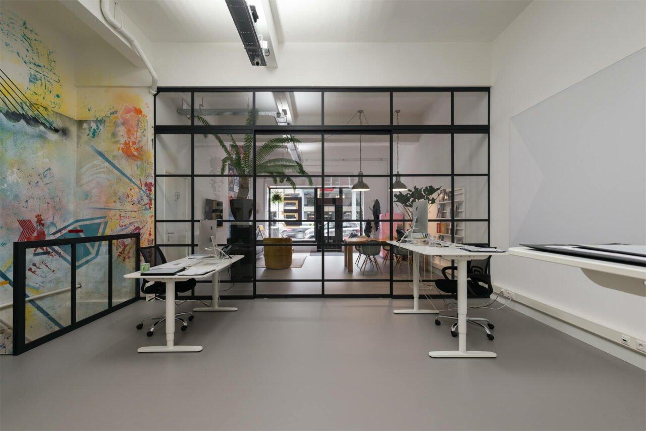 Kantoor Buro Estay Rotterdam GewoonGers wand