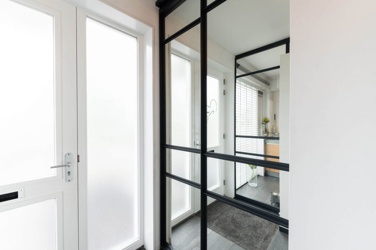 Woonhuis Rotterdam Nesselande taatsdeur detail