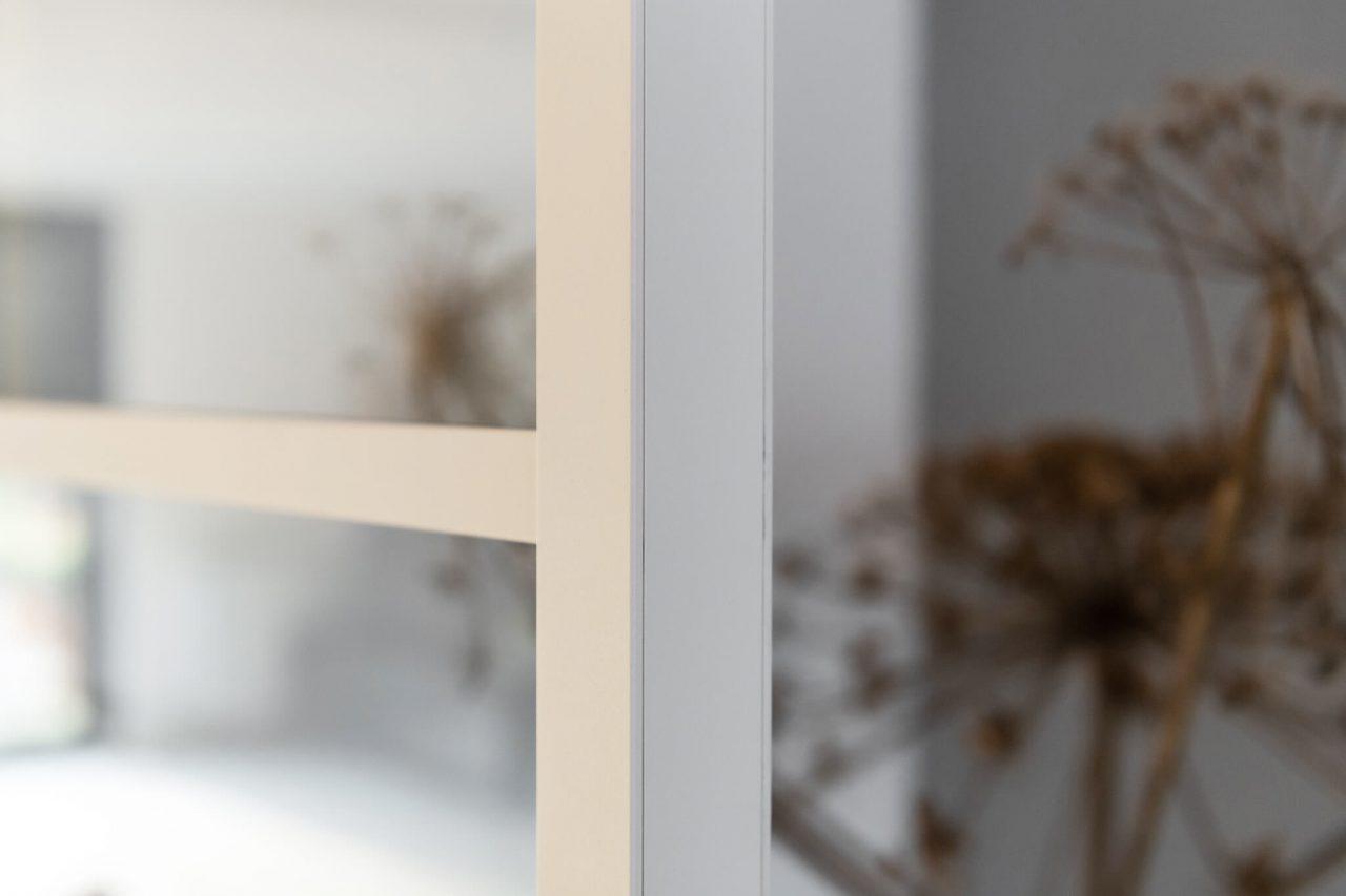 Dubbele witte taatsdeur van GewoonGers