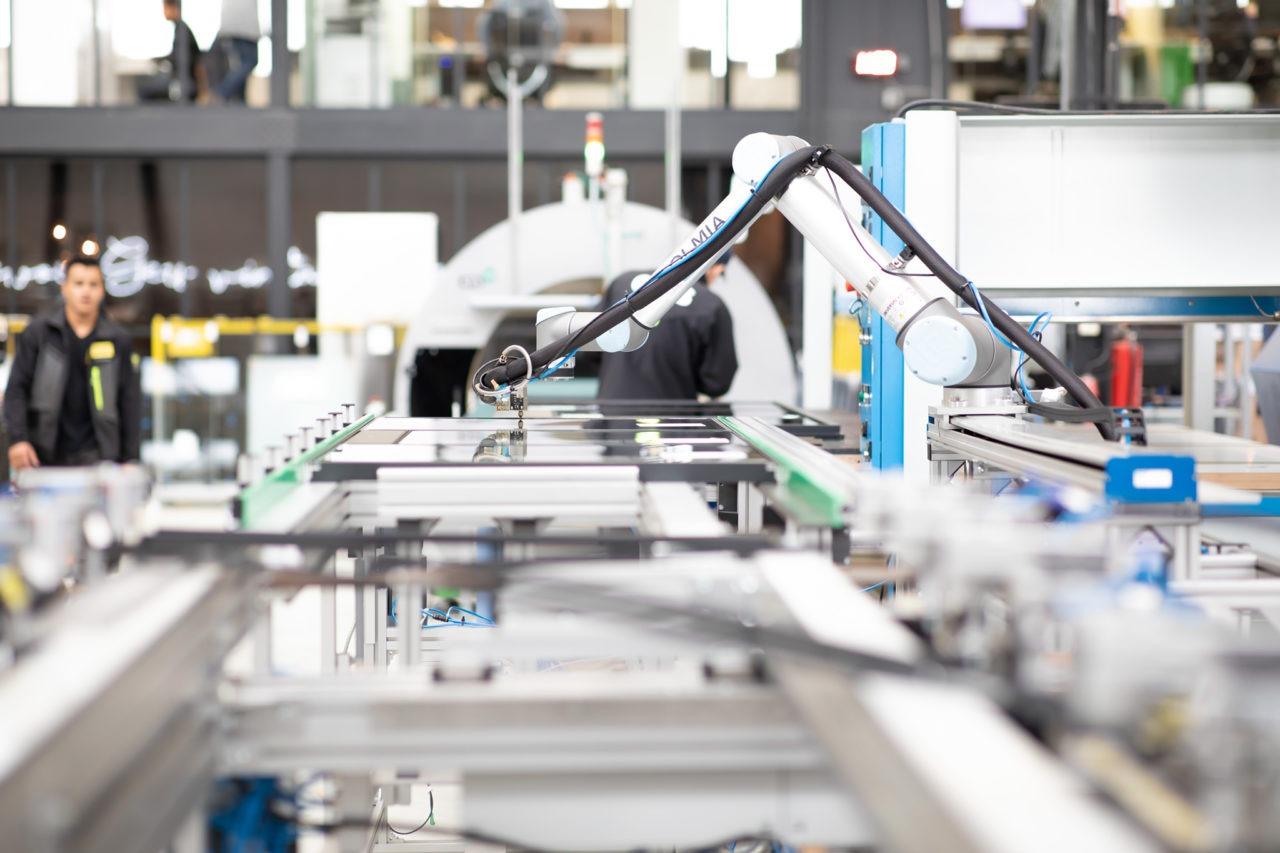 robotarm werkplaats gewoongers